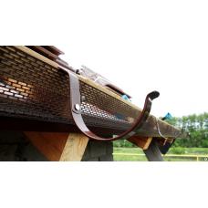 Монтаж капельника конденсата и ленты вентиляционной ПВХ