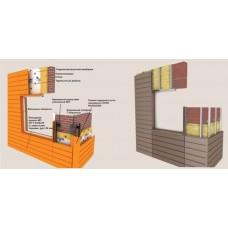 Монтаж линеарных панелей