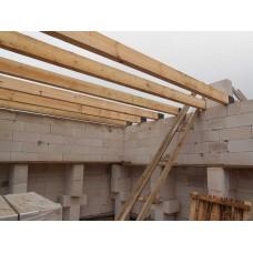 Монтаж межэтажного перекрытия из бруса