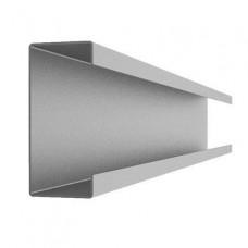Фасадный крепежный профиль С-образный 2,0 мм