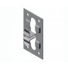Пластина кляммерная вертикальная AR П 38х10х1,2