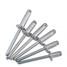 Заклепки алюминий/сталь, оцинк. DIN 7337