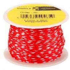 Шнур каменщика STABILA красно-белый, полипропилен