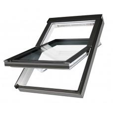 Окно  Fakro Plastic (PTP U3) 01 (55х78)