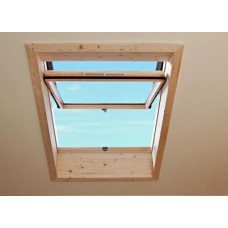 Окно в ламинации R75 K G WD 07/09 74х98