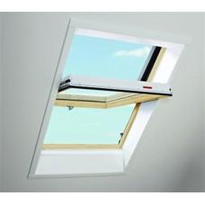 Окно в ламинации R45 K G WD 07/14 74х140