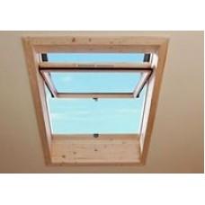 Окно из дерева R75 H WD 05/07 54х78