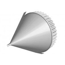 Заглушка конька круглого конусная  Полиэстер 25 мкм 0,45