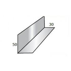 Планка снегозадержателя усиливающая 50х30х2000 PRISMA 50 мкм 0,5