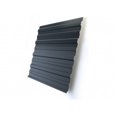 Профнастил стеновой GL 0,5 Стальной бархат