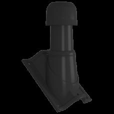 Выход вытяжки МП MAXI Ø110-125/500 с проходным элементом на профнастил НС-35 **